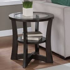 espresso end tables alluring espresso accent table best images about round accent tables on sofa end white coffee nesting end tables