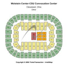 Wolstein Center At Cleveland Csu Convocation Center Seating