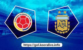 مشاهدة مباراة الارجنتين ضد كولومبيا 07-07-2021 بث مباشر في كوبا امريكا
