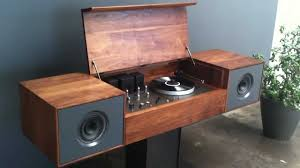 Cabinet Record Player Hands On With The Symbol Audio Modern Record Console Youtube