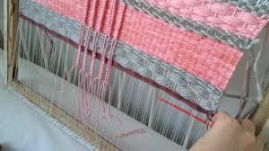 hand woven pillow and rag rug
