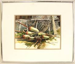 "176: Evelyn Carlson Watercolor, ""Sun and Salt Air"" - May 22, 2011 