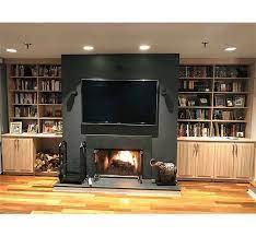 custom built in media center cabinets