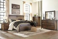 Ashley Coal Creek B175 King Size Mansion Bedroom Set 5pcs in Dark ...