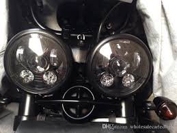 2x motorcycle accessories 5 3 4 harley daymaker headlight 5 75