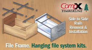 Hanging Files For Filing Cabinets Compx Timberline File Frame Side To Side Rails Removal