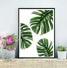 wonderful inspiration leaf wall art small home decoration ideas decor v sanctuary com 6 tropical printable on green wall art decor with project ideas leaf wall art interior designing home amazon com green