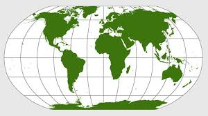 <b>New world map</b> depicts continents true to their actual size - world ...