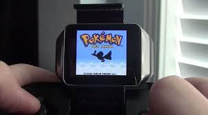Gameboy Color Spiele laufen auf der Samsung Gear Live: Pokemon am  Handgelenk - All About Samsung