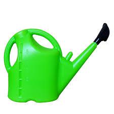 5l plastic gardening watering pot household flower watering can green