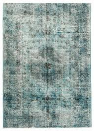 rug blue vintage overdyed rugs australia