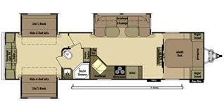 >2014 open range rv roamer series m 309bhs specs and standard  floor plan