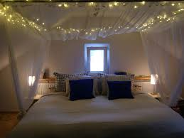 Diy Canopy With Lights Canopy Bed With Mosquito Net And Fairy ...