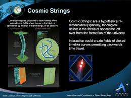 cosmic string time travel cosmic string time control and time travel