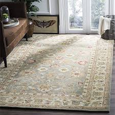 safavieh antiquities collection at822a handmade traditional oriental grey blue and beige wool area rug 3