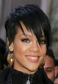short black edgy hairstyles