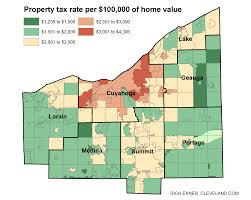 Ohio Sales Tax Chart By County Compare New Property Tax Rates In Greater Cleveland Akron