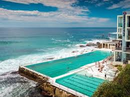 cool swimming pools. Simple Swimming This Famous Olympicsized Lap Pool Facing Bondi Beach In Sydney Australia  Is An Incredible Place To Take A DipJetsetter Throughout Cool Swimming Pools