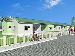 Semi Detached House Plans In Zambia
