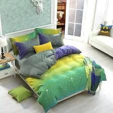 purple and yellow comforter lime green and purple bedding lime green bedspread on com aa blue