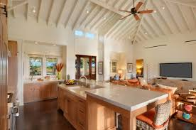kitchen spot lighting. View In Gallery White Ceiling Spotlights A Kitchen With Tropical Accents Spot Lighting