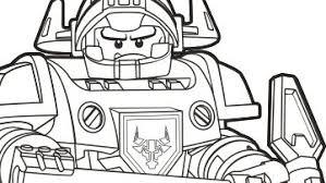 Coloring Pages Lego Nexo Knights Legocom Us