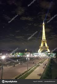 Eiffel Tower Light Show 2017 Paris July 2017 Eiffel Tower At Night Light Show Paris