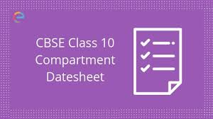 Cbse Class 10 Date Sheet 2019 Compartment Announced Check