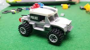 Lắp rap xe cảnh sát LEGO police car toy for kid đồ chơi trẻ em - YouTube