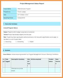 Project Status Reporting Project Management Weekly Status Report Template To Development
