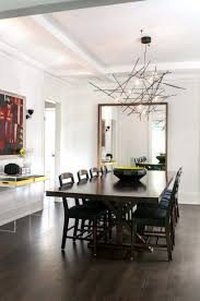 dining room contemporary dining room chandeliers drop gorgeous crystal modern lamps light fixture glass lighting surprising
