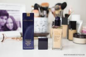 estee lauder perfectionist youth infusing foundation makeup spf 25 review