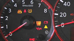 2013 Altima Engine Light 2012 Nissan Altima Warning And Indicator Lights