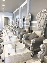 Hair And Nail Salon Design Haare Hair Peinados Beach Fashion In 2019 Nail Salon