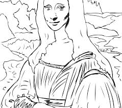 Mona Lisa Drawing At Getdrawingscom Free For Personal Use Mona
