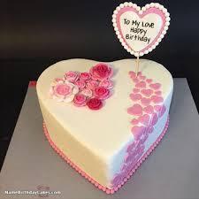 Best Romantic Girlfriend Birthday Cakes Images On Pinterest Happy