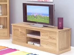 Oak Cabinets Living Room Mobel Solid Oak Widescreen Tv Cabinet Tv And Hi Fi Cabinets