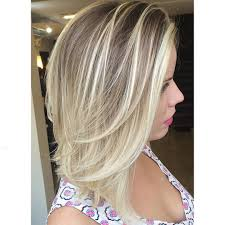 Blonde Hair Style straight midlength ashblonde hair with layers medium length 3216 by wearticles.com