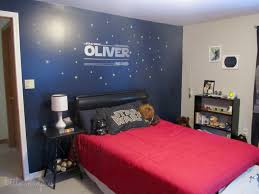 star wars themed bedroom decor. Perfect Star Star Wars Themed Bedroom Via Little Mudpies One Dark Wall Is Nice In Decor