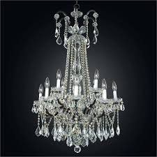 wrought iron crystal chandelier lighting country french white with shades chandeliers h2