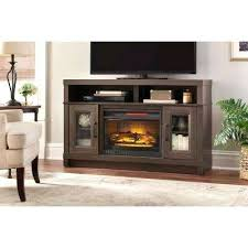 glass fireplace tv stand freestanding electric fireplace stand in gray oak fireplace tv stand with glass