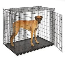 MidWest Extra Large Dog Breed (Great Dane) Heavy Duty Metal Dog Crate w/