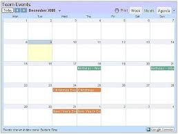 Sample Agenda Calendar Interesting How To Make An Embedded Google Calendar Show In Agenda Chron