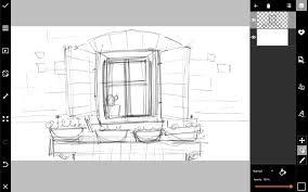 window drawing. how to draw a window drawing o