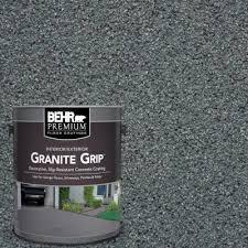behr premium 1 gal gray granite grip