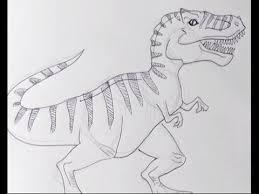 Disegnare Un Tirannosauro Rex Trex