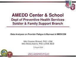 Ppt Amedd Center School Dept Of Preventive Health