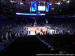 view seating charts new york knicks at madison square garden section 111 view