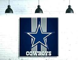 dallas cowboys home decor cowboys home decor cowboy wall canvas art clearance sticker cowboys wall decor