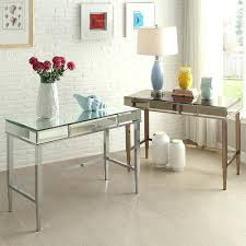 large size of office writing desk beveled mirrored accent 1 drawer by inspire q bold depot